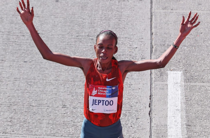 Kenya's Rita Jeptoo was handed a two-year ban by Athletics Kenya in January for erythropoietin (EPO) violations