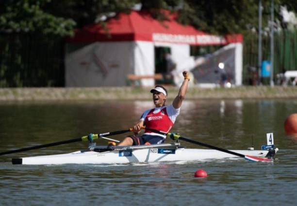 Corne de Koning is the first Para-rower to win World Championships gold in two boat classes ©IPC