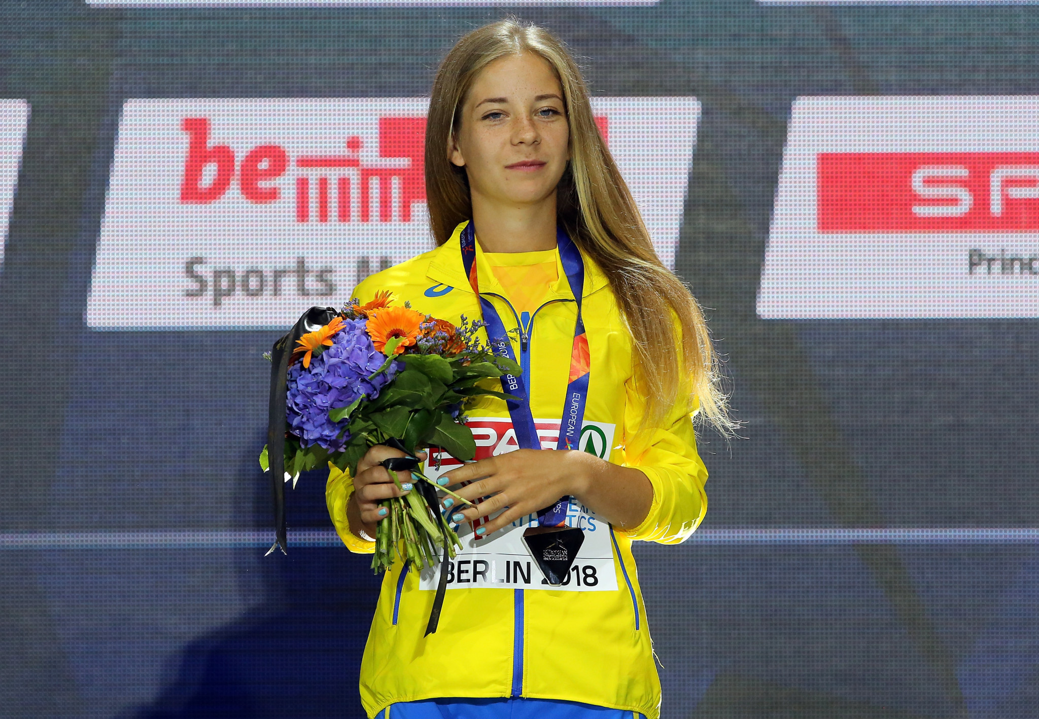 Ukrainian race-walker Alina Tsviliy has been provisionally suspended from competition after testing positive for a banned substance ©Getty Images