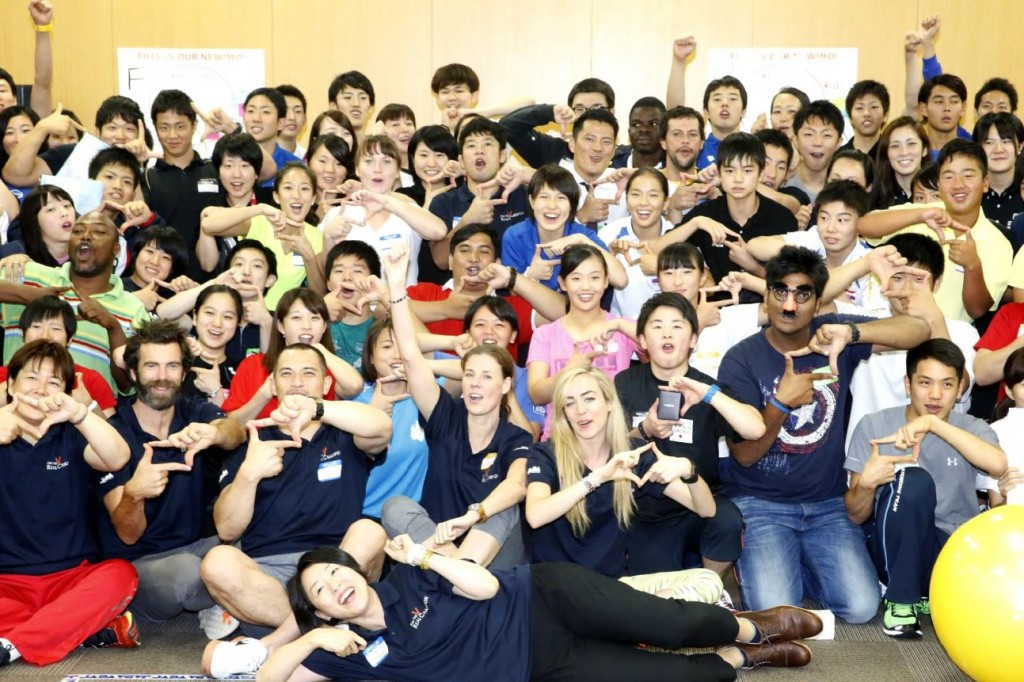International Athlete Forum for 2020 concludes with practical anti-doping sessions for Japanese youngsters