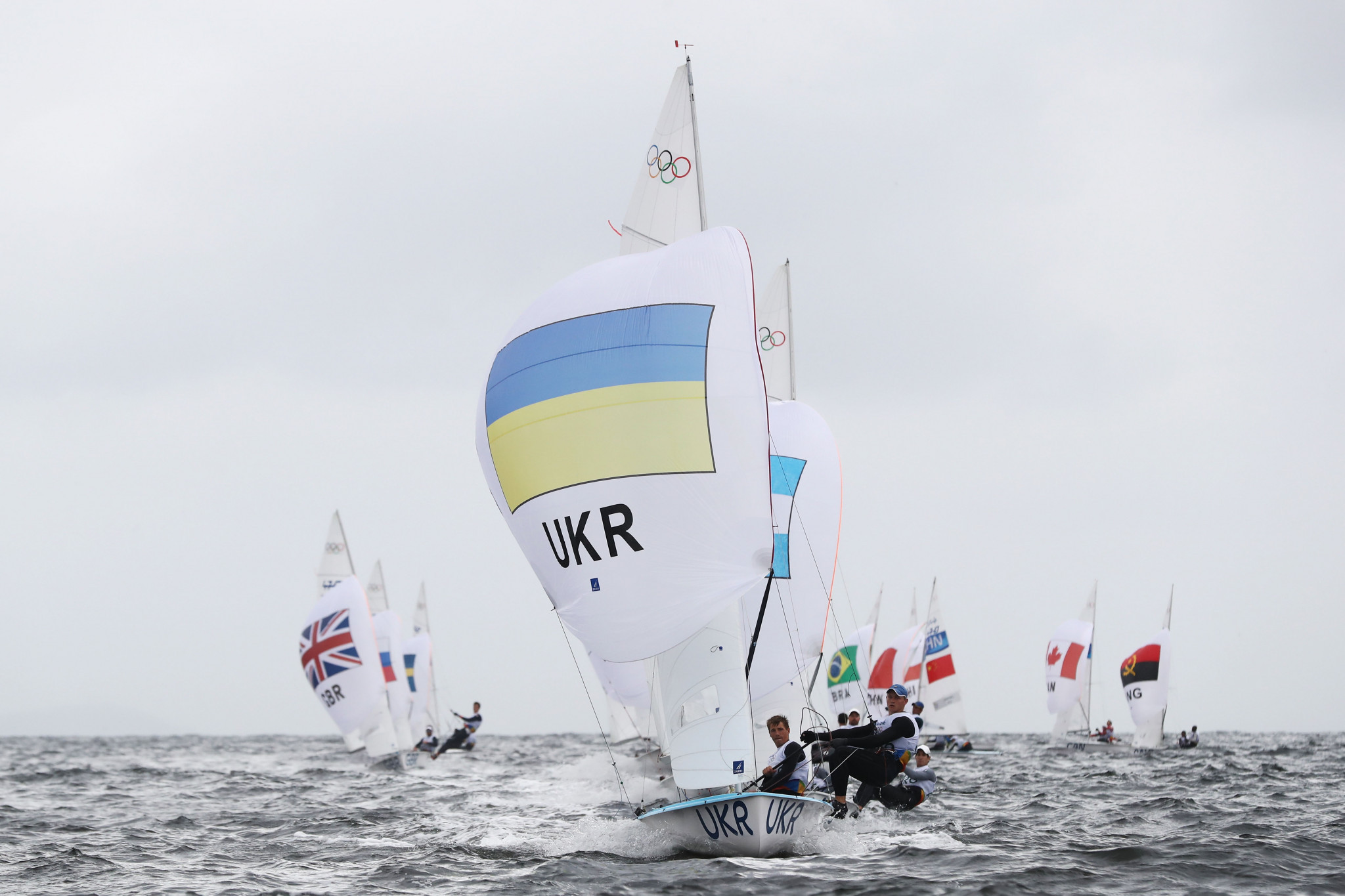 The Ukraine Sailing Federation have called on World Sailing to ban Russia, amid tensions over the Crimean Peninsula ©Getty Images