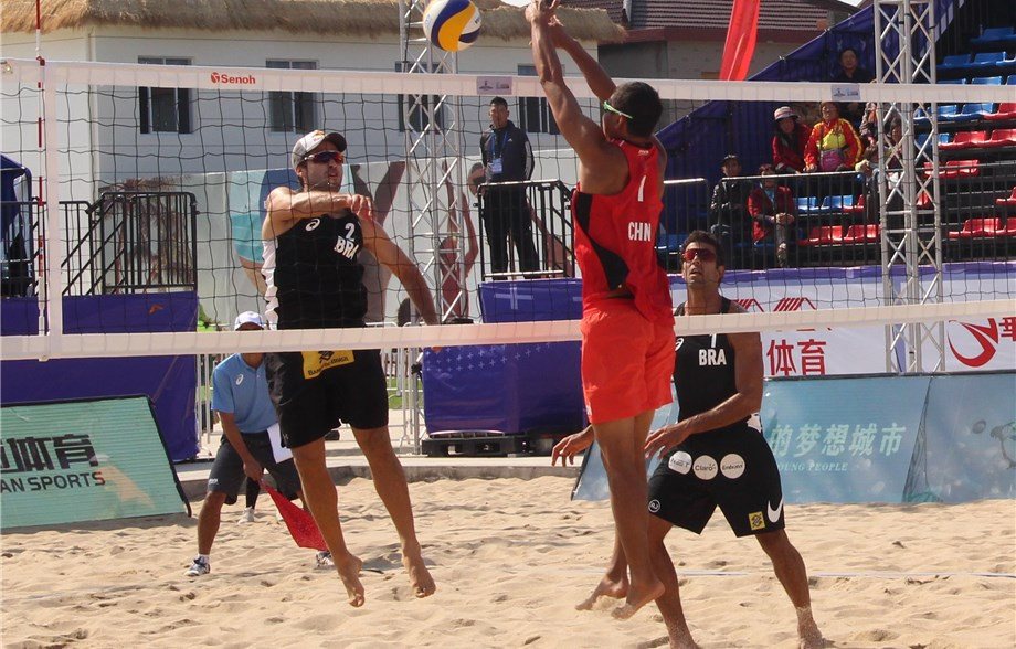 Good day for Brazilian pairs at FIVB Yangzhou Open