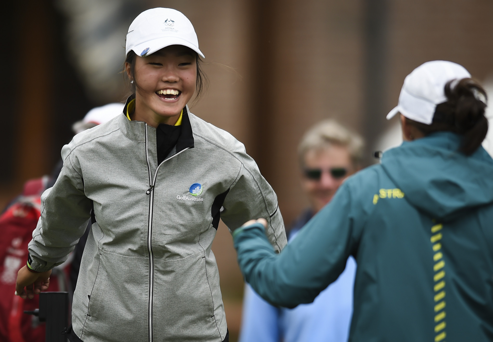 Kim Grace claimed the women's golf title as Australia swept both gold medals on offer ©Getty Images