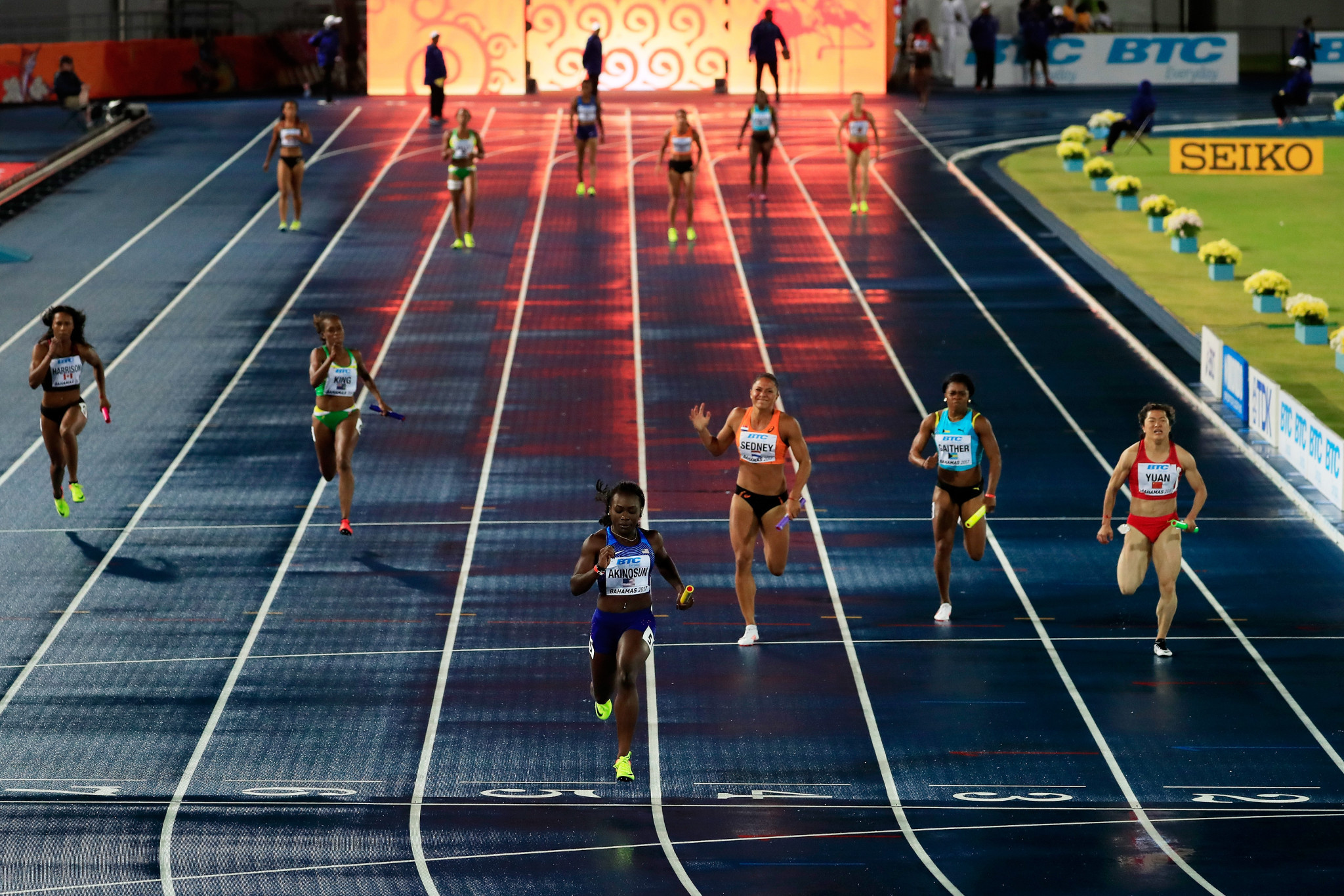 The first three editions of the IAAF World Relays, in 2014, 2015 and 2017, were held in The Bahamas' capital Nassau ©Getty Images
