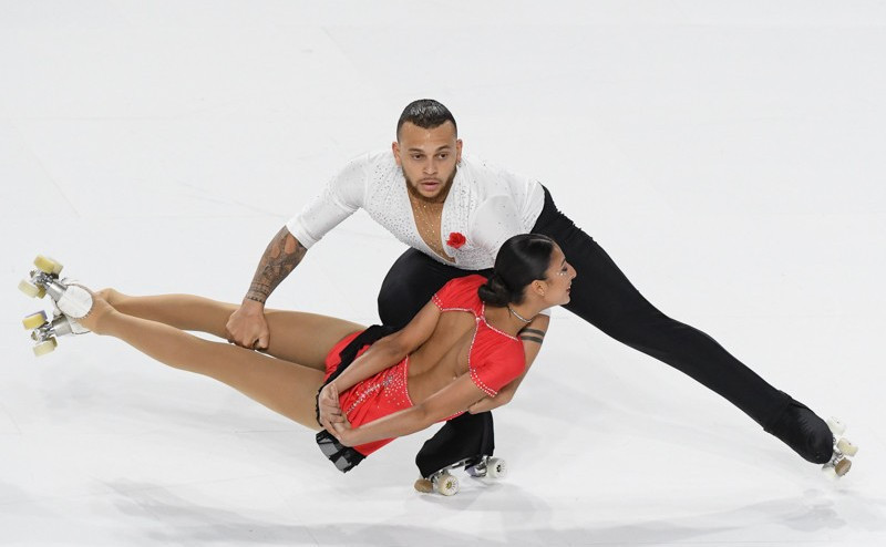 Italy in pole position for clean sweep at World Artistic Skating Championships