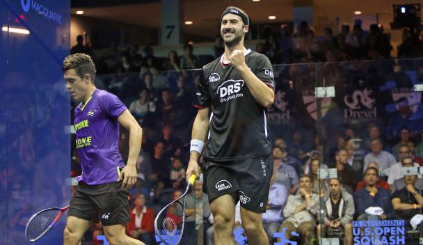 Historic semi-finals set for Professional Squash Association US Open