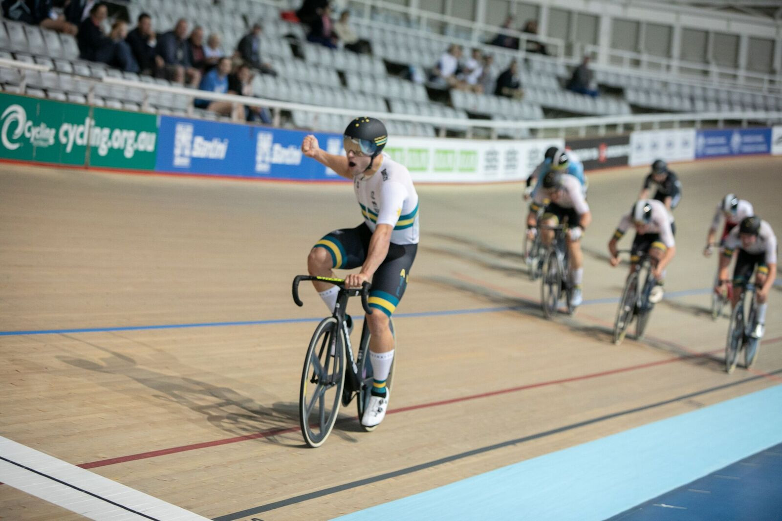 Two golds for Welsford as Australia dominate once more at Oceania Track Cycling Championships