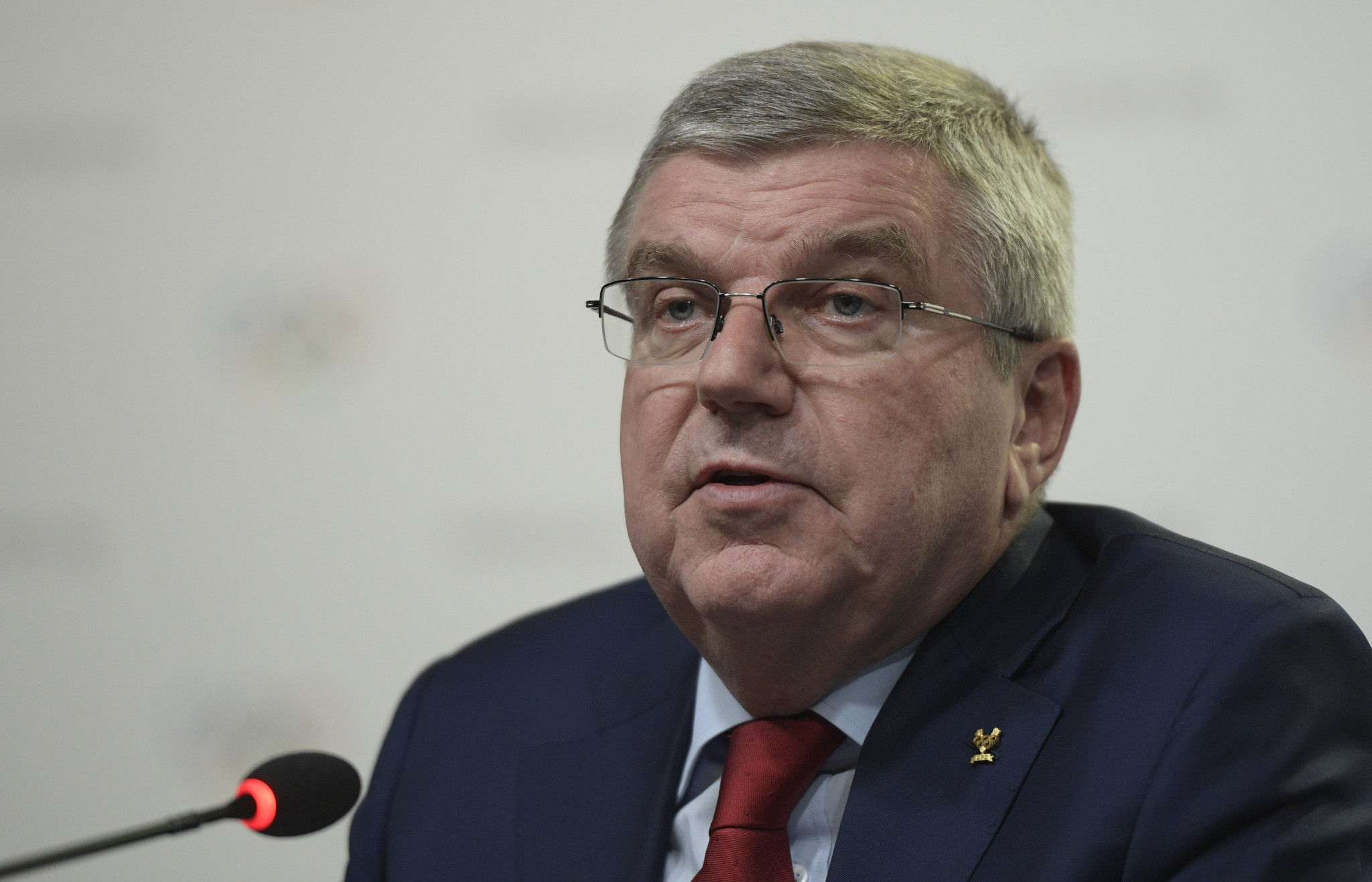 IOC President Thomas Bach has previously claimed there is
