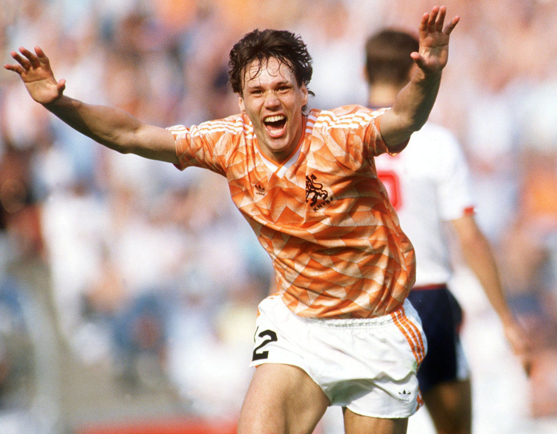 Marco van Basten is one of the best players The Netherlands has ever produced ©Getty Images