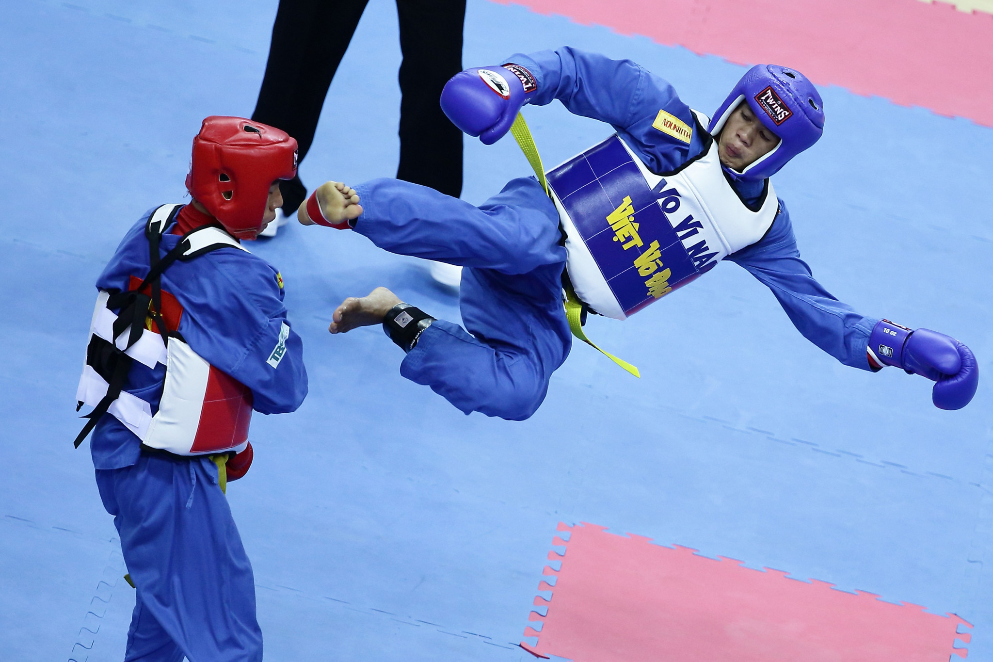 Vietnamese martial art vovinam has been put forward ©Getty Images