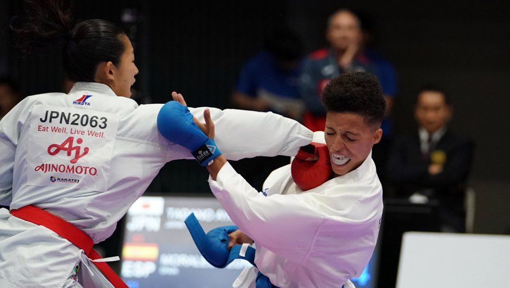 Strong day for hosts Japan at Karate 1-Premier League in Tokyo