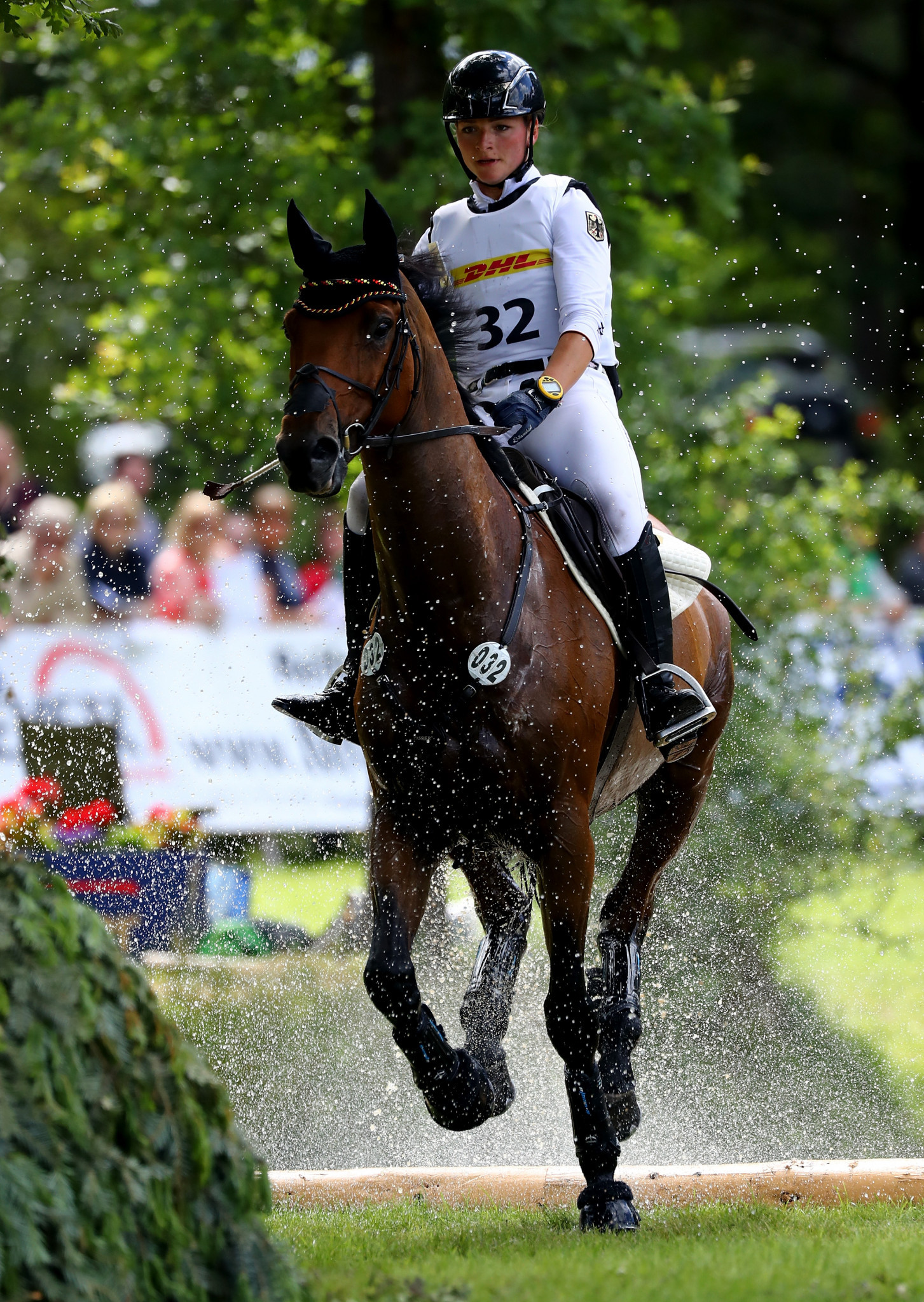 Germany move into lead after day two of FEI Nations Cup Eventing leg in Boekelo
