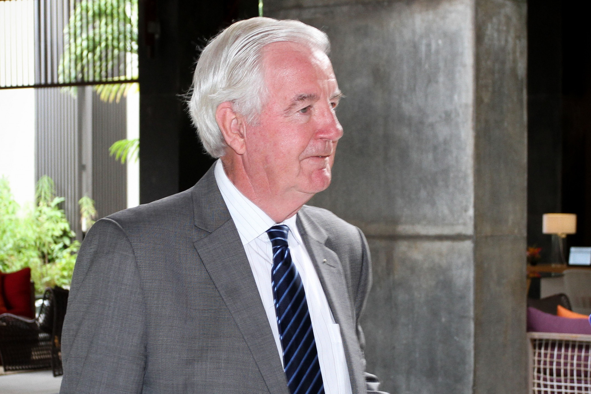 Sir Craig Reedie has consistently defended the process ©Getty Images