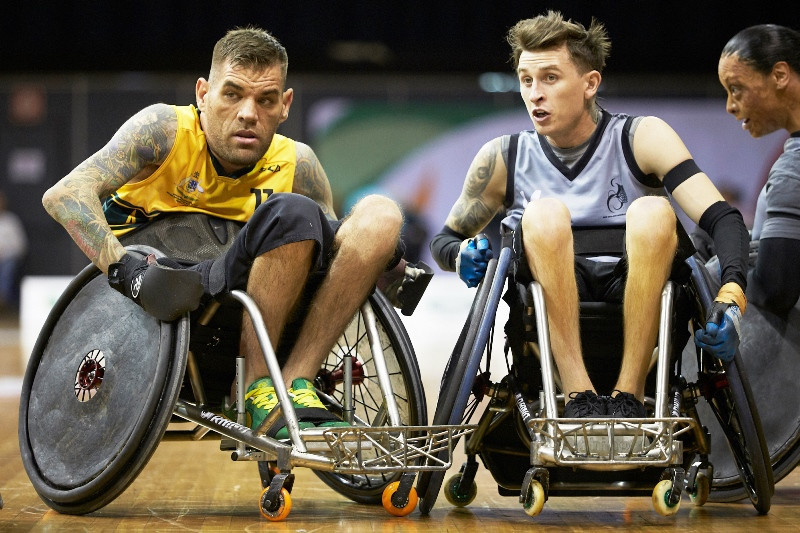 The tournament in Nottwil will only feature players in the three most severe impairment categories ©IWRF