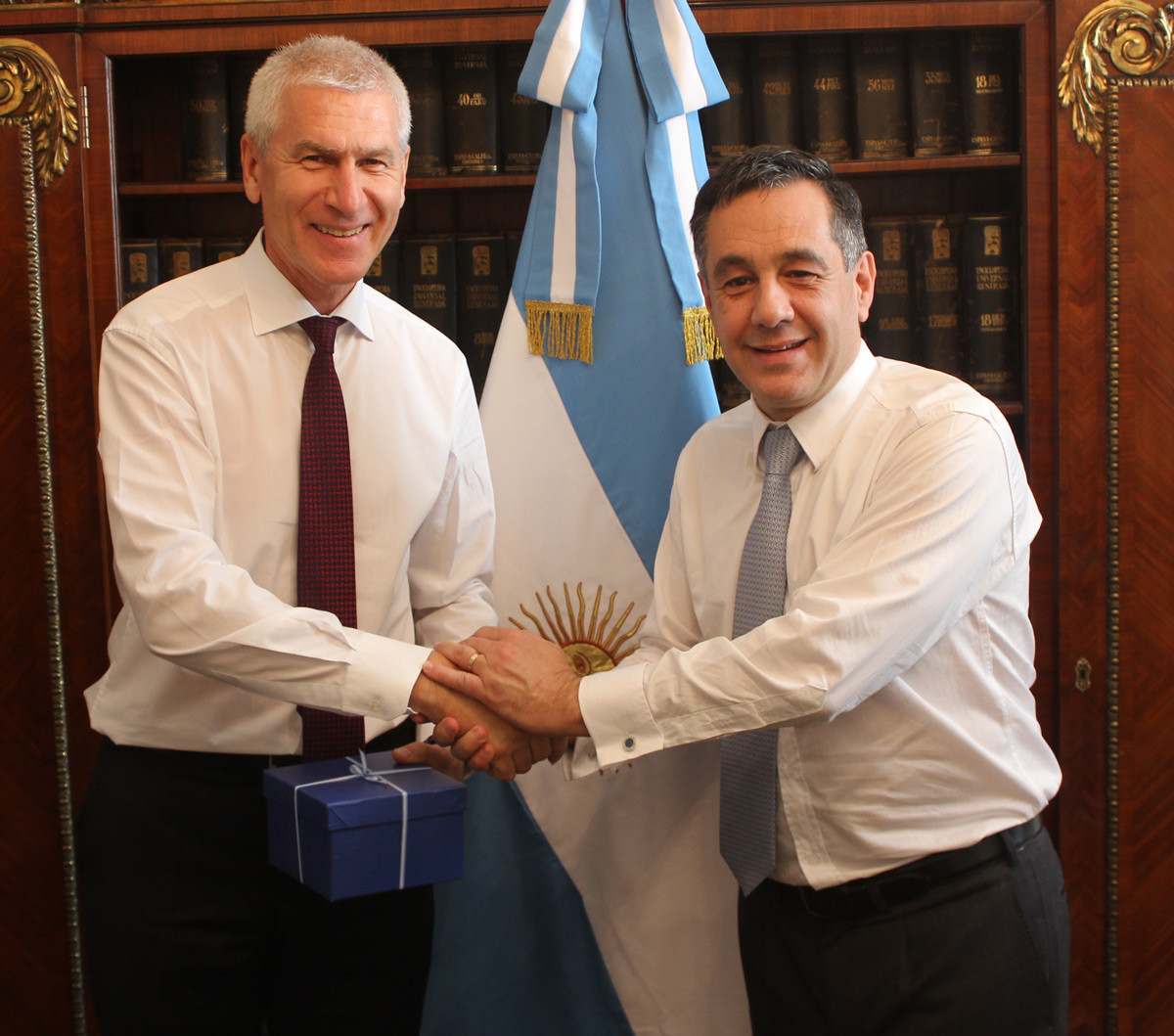 FISU President discusses upcoming Universiades with IOC members in Buenos Aires
