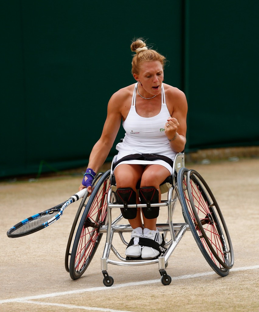 British wheelchair tennis player Jordanne Whiley is one of those nominated ©insidethegames
