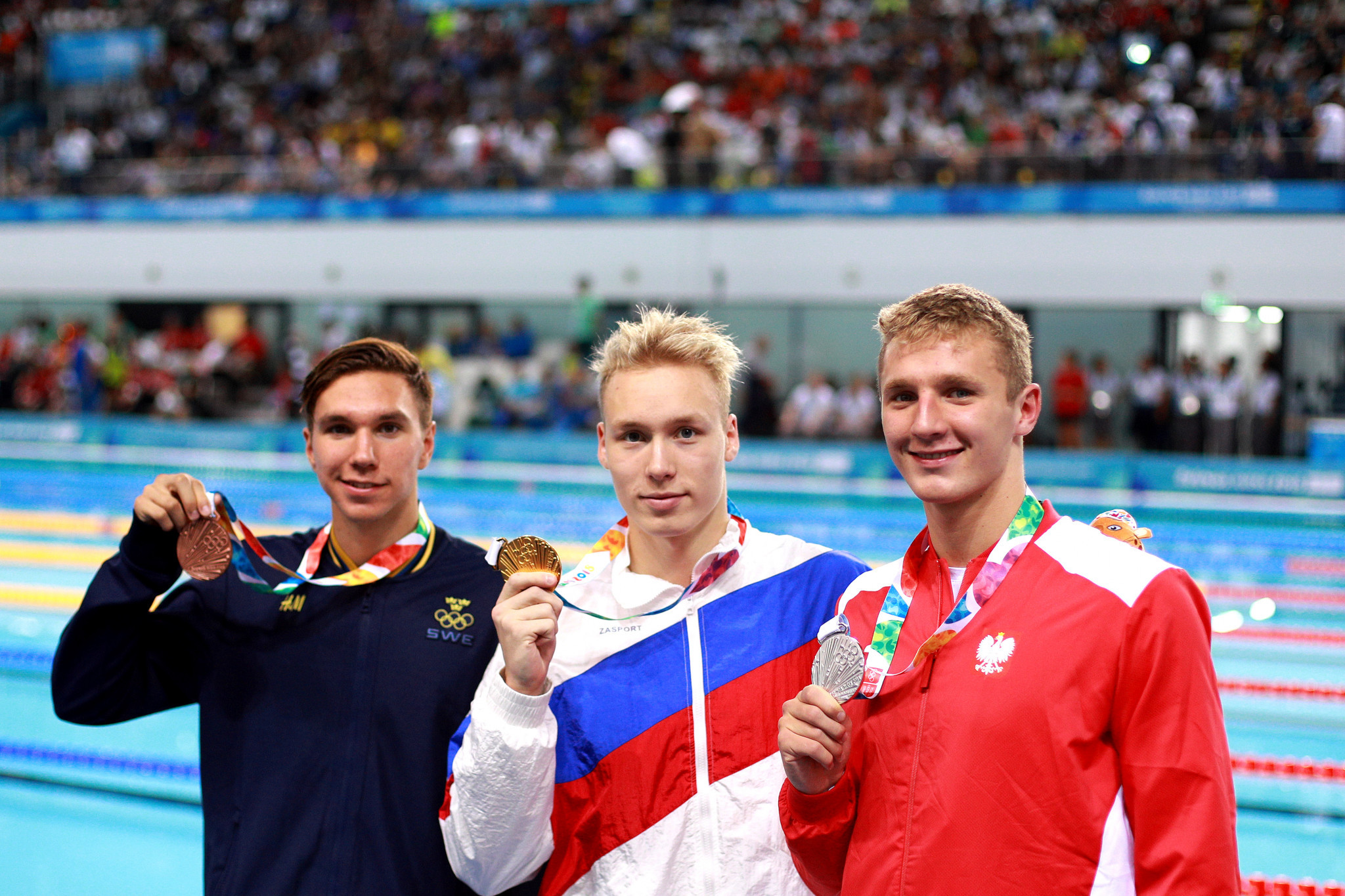 Russia dominate final day of swimming at Buenos Aires 2018