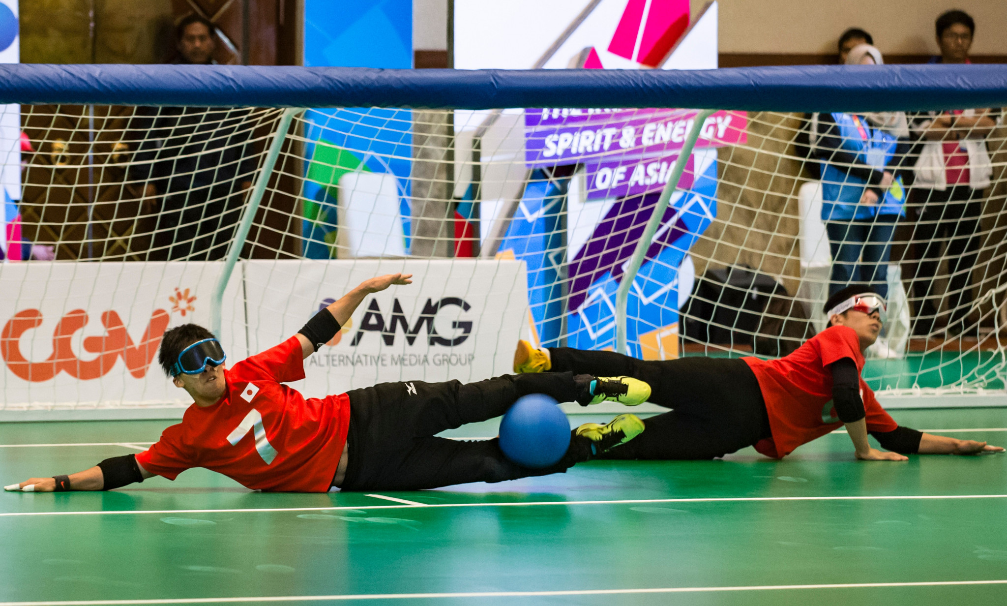 Dr Kari Marklund was a key figure in goalball ©Getty Images