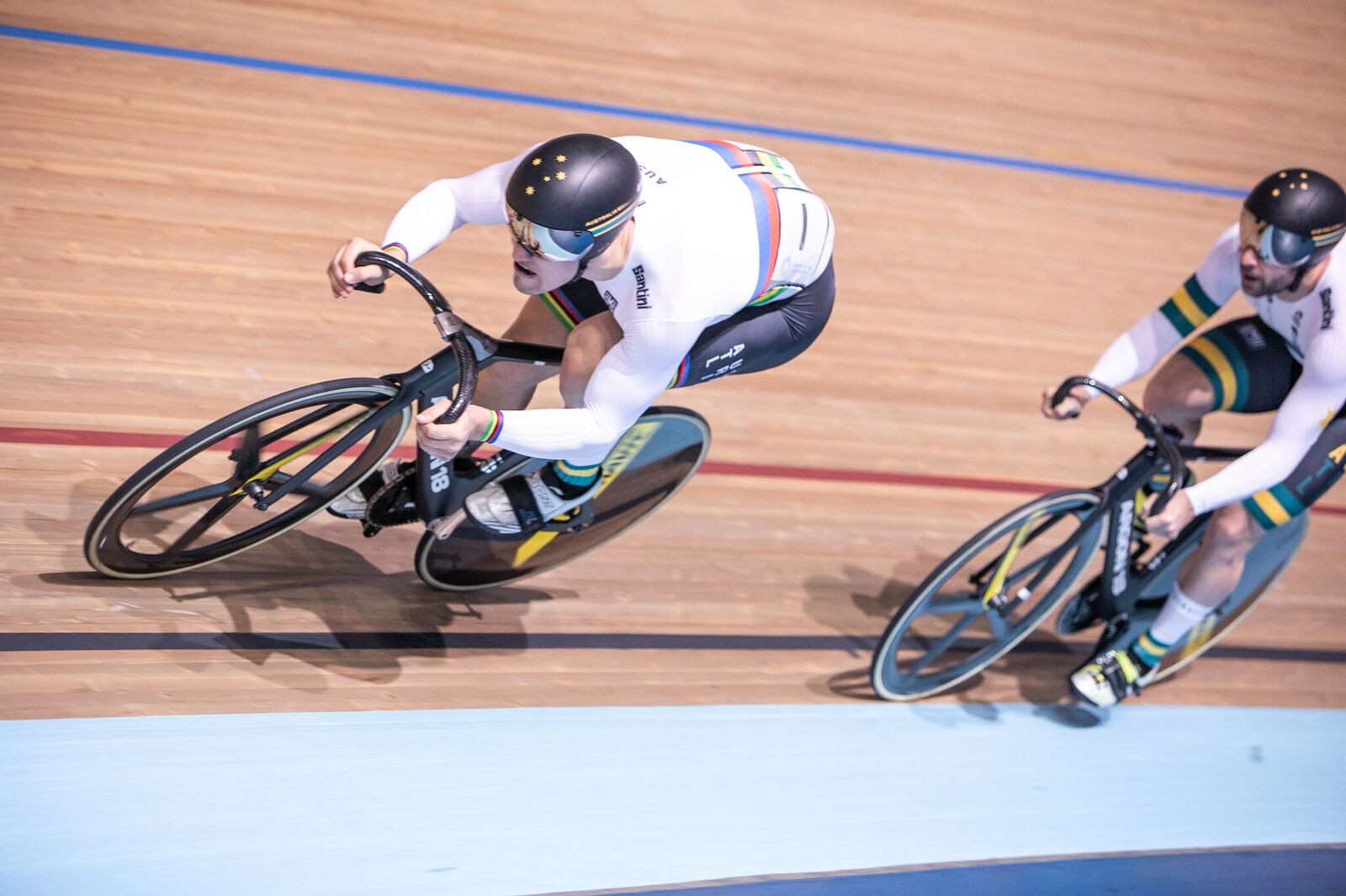 Australians Glaetzer and Morton among winners on day three of Oceania Track Cycling Championships