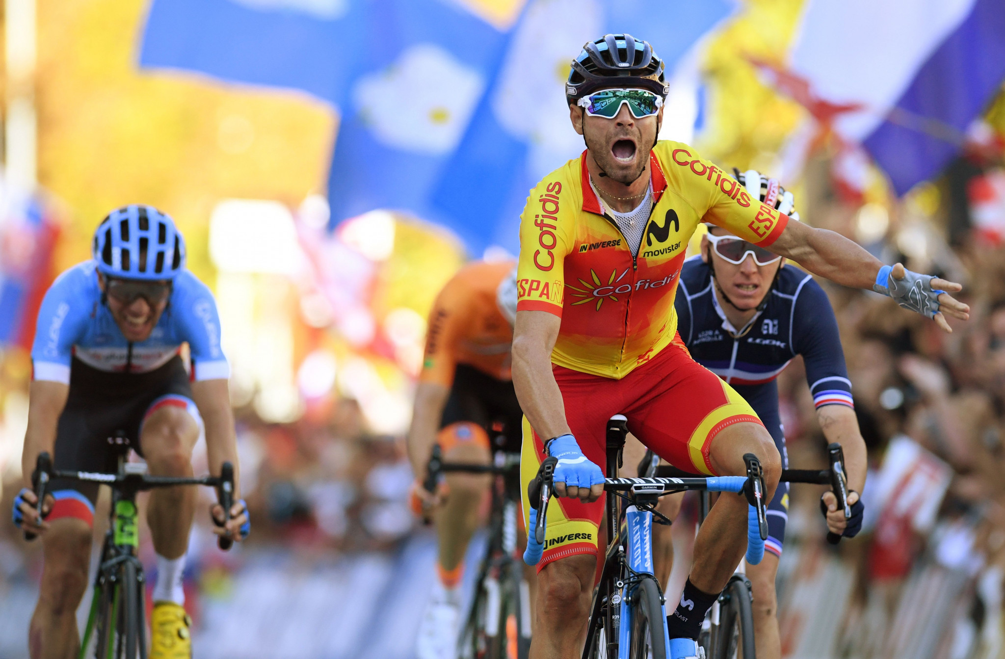 Alejandro Valverde served a drugs ban after an Italian investigation ©Getty Images