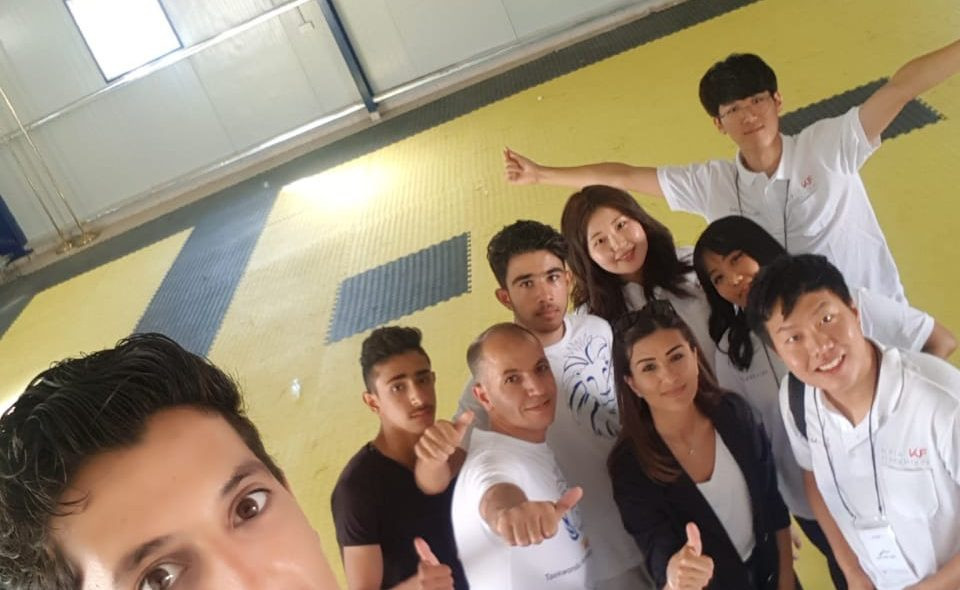 THF's Azraq Academy welcomes four Korean students in cultural exchange