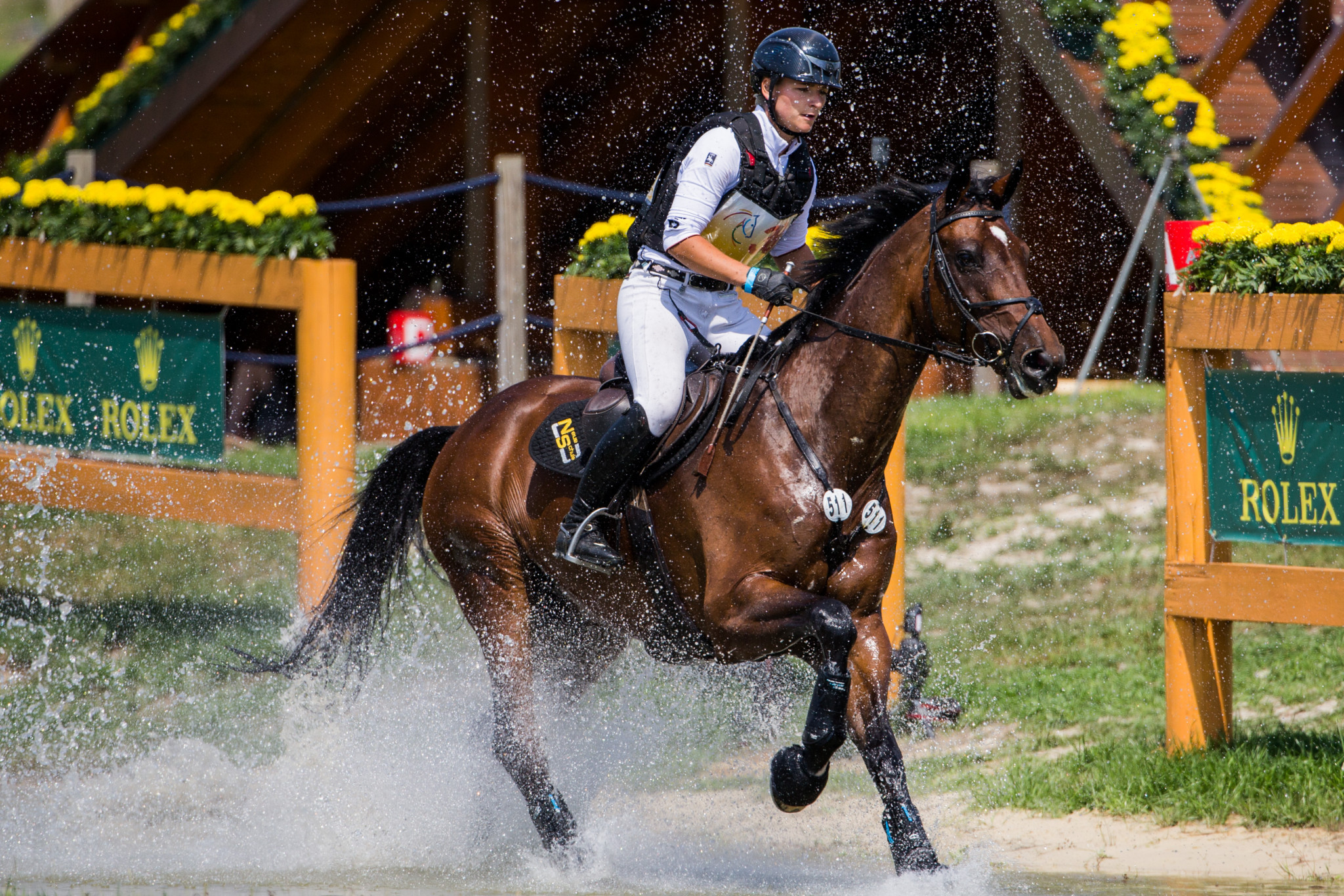 Germany continue to lead way after cross-country round at FEI Nations Cup Eventing leg in Boekelo