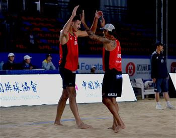 Finalists decided at FIVB Beach Yangzhou Open in China