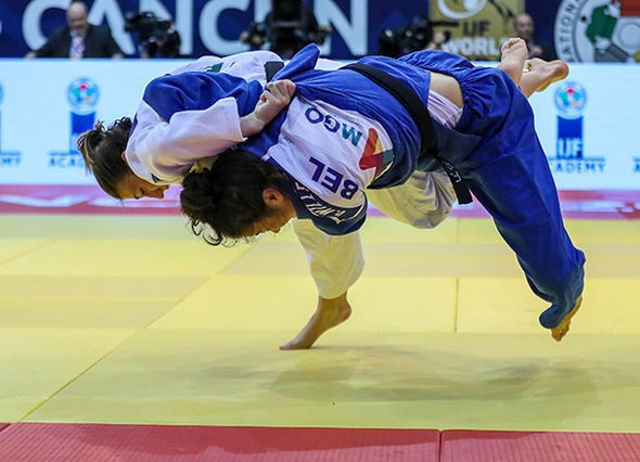 Debut titles for Polleres and Chouchi at IJF Cancún Grand Prix
