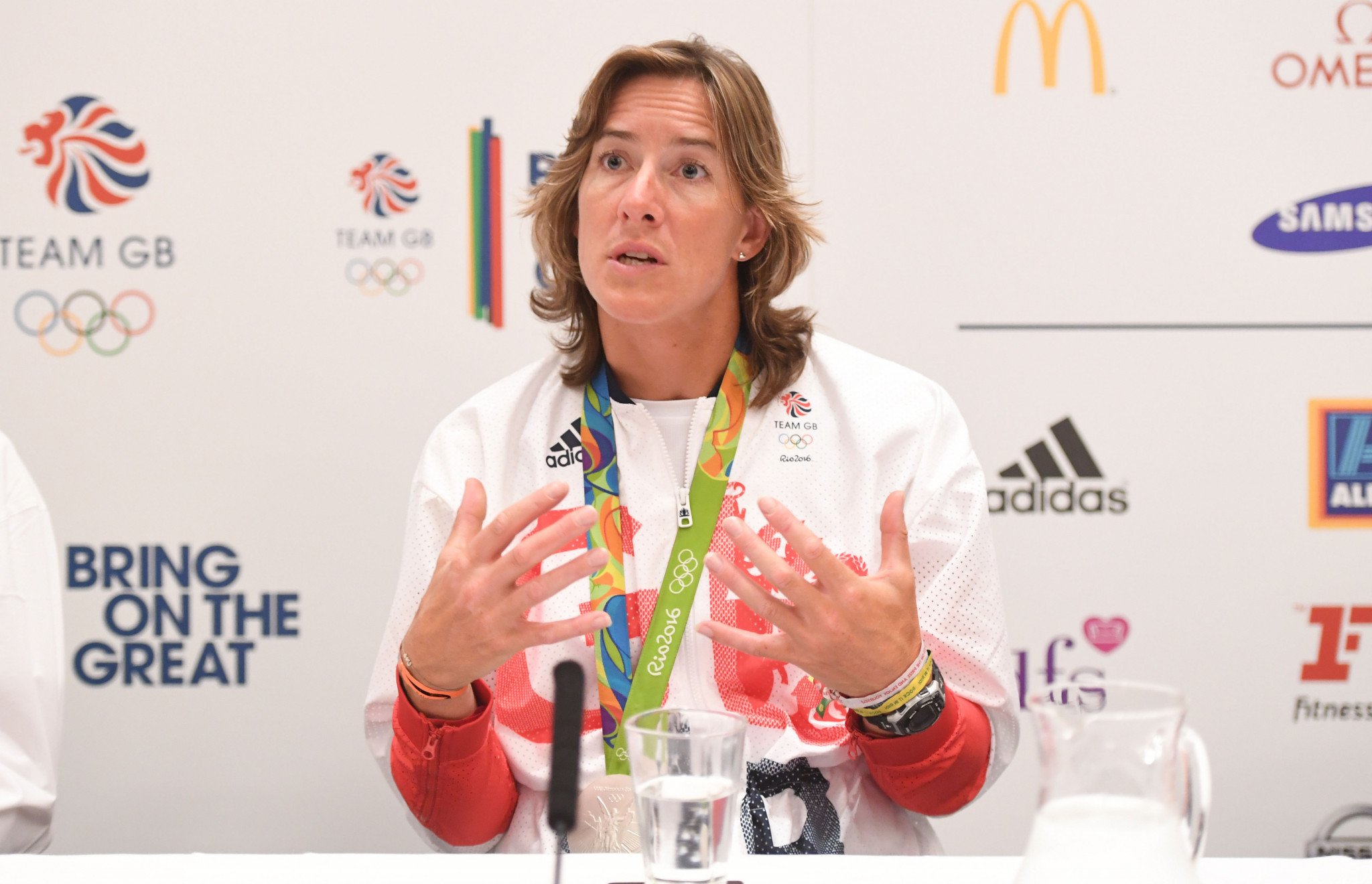 Great Britain's six-time world champion Katherine Grainger won the Thomas Keller medal last year ©Getty Images