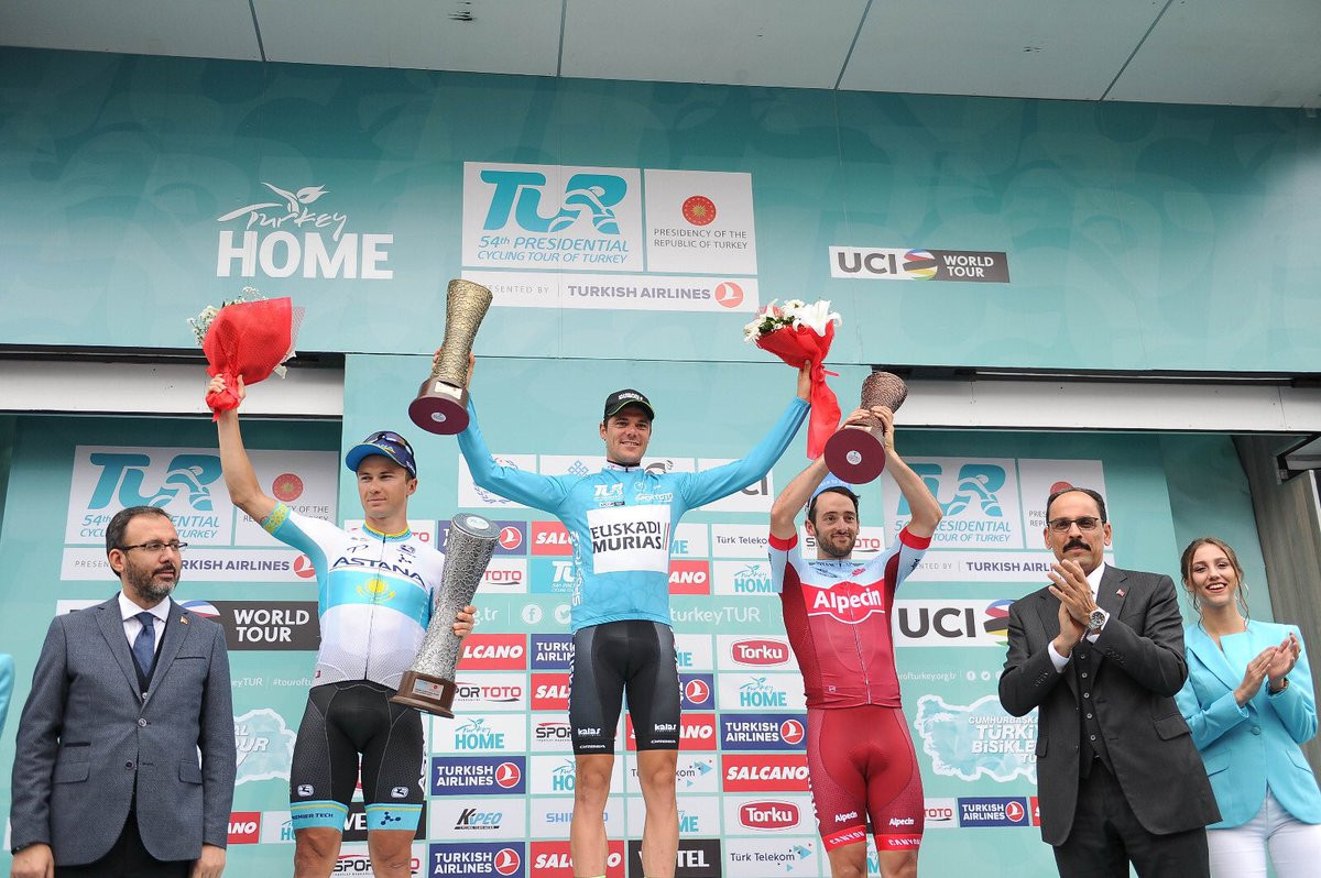 Prades takes overall Tour of Turkey title as Bennett wins final stage