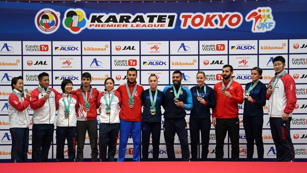 Grand Winners crowned as Tokyo Karate-1 Premier League concludes