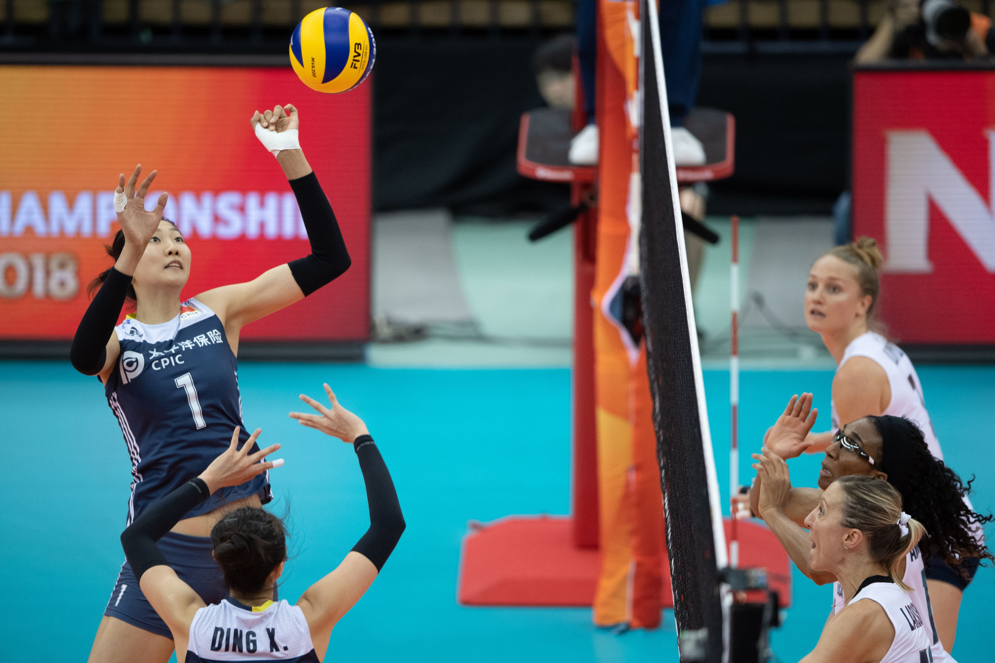 China and Serbia win in third round of FIVB Women's Volleyball World Championships
