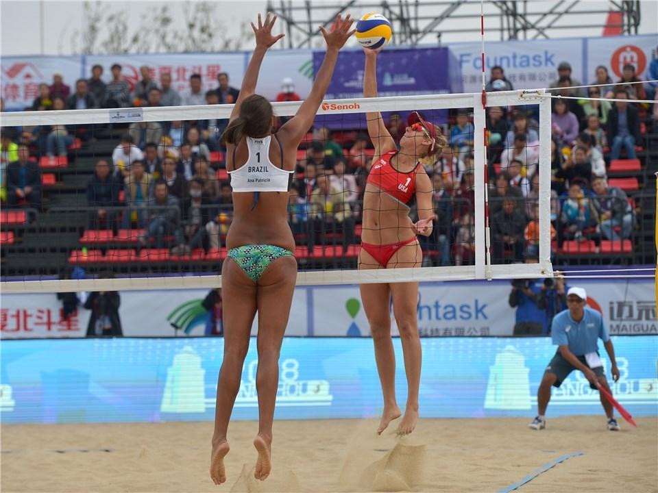 Russian and American pairs win gold at FIVB Beach Yangzhou Open