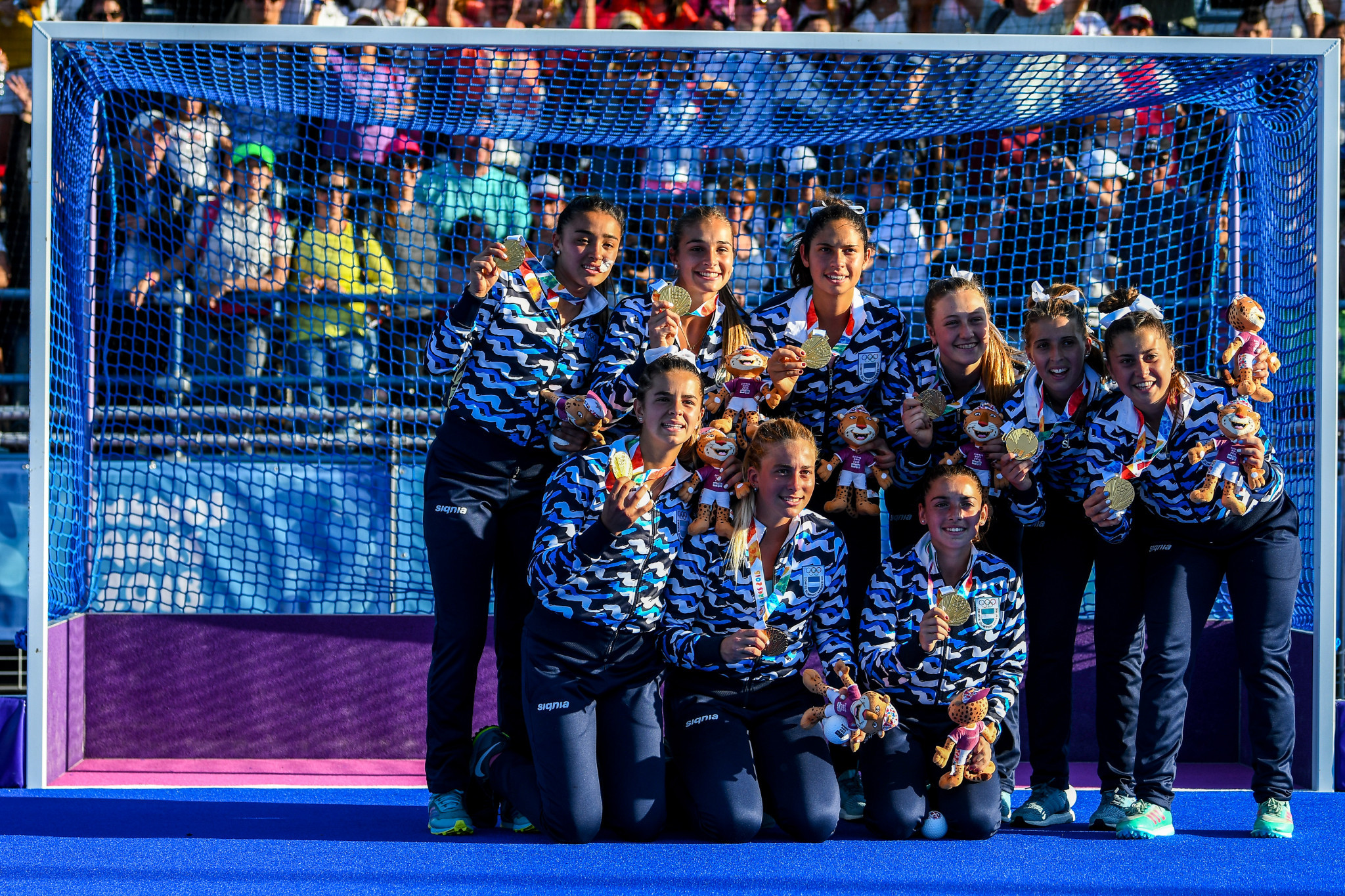 Argentina win women's hockey title as first athletics gold medals awarded at Buenos Aires 2018