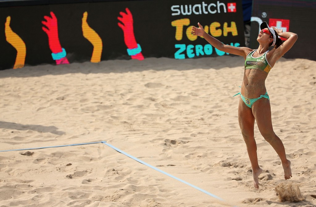 Home hopes ended in women's competition at FIVB World Tour Finals