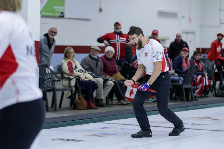 Norway and Finland top groups after strong day at Mixed Curling World Championship