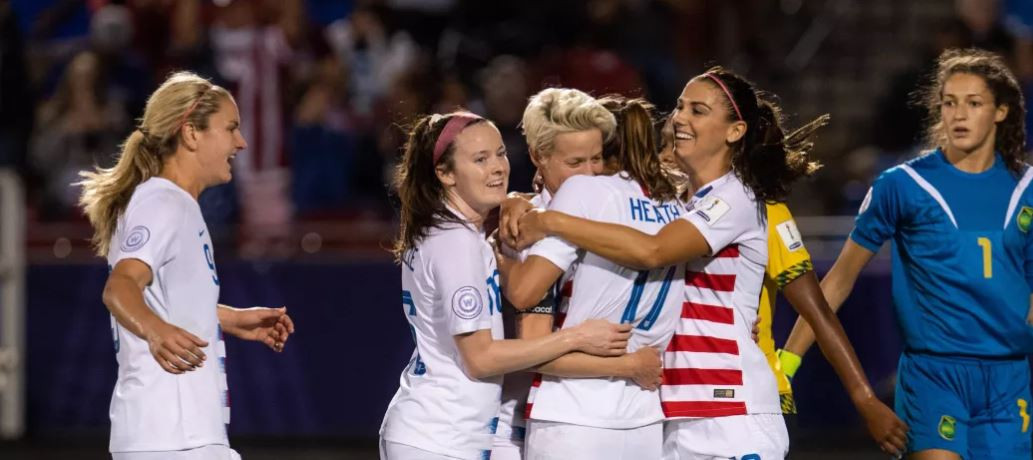 Hosts the United States will play Canada in the final of the CONCACAF Women's Championship after beating Jamaica 6-0 ©CONCACAF
