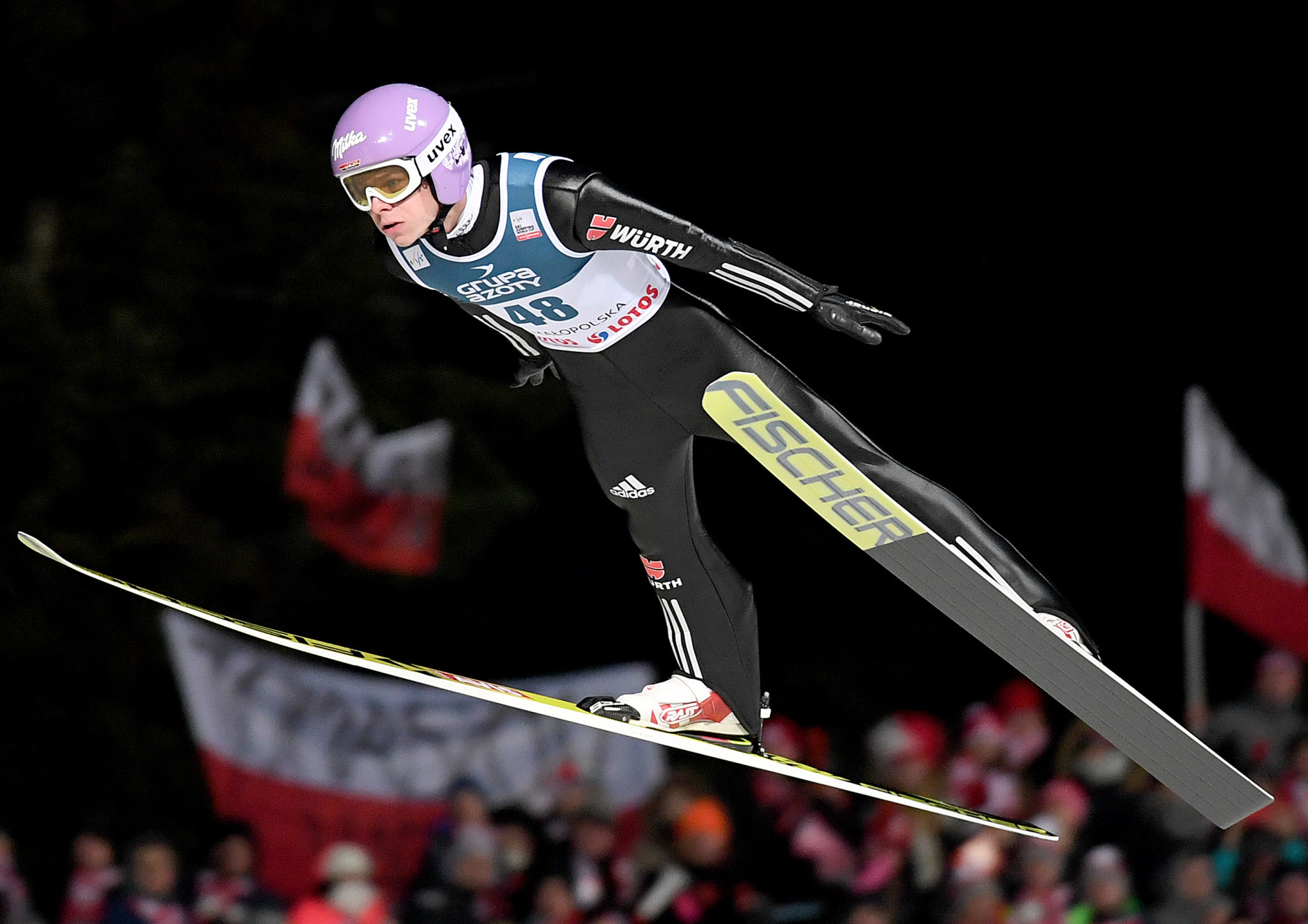 Delegates paid a visit to the ski jumping hill in Zakopane ©Getty Images