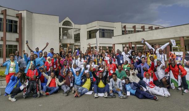 Delegates from 14 African countries gathered in Ethiopia for the three-day event ©IPC