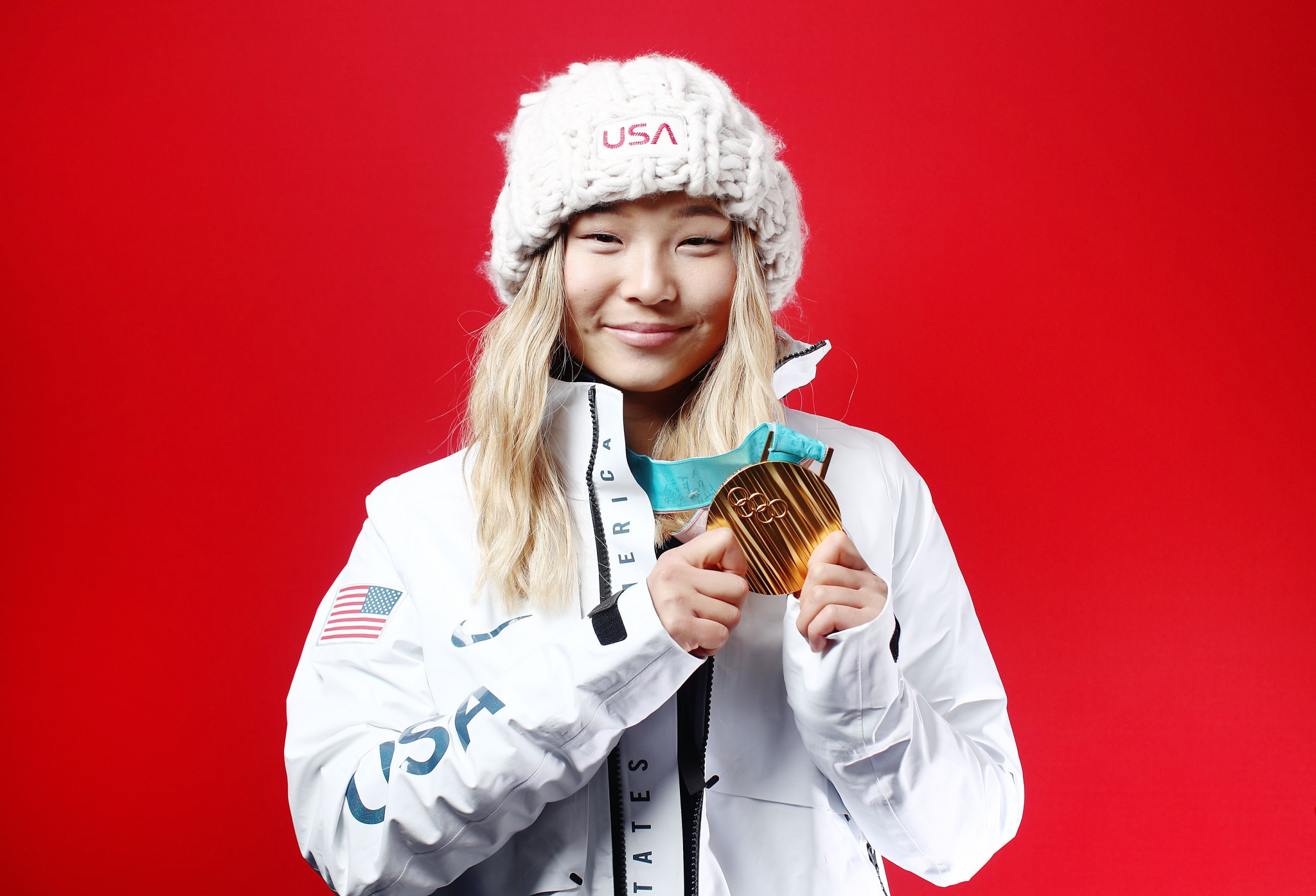 Olympic champion Kim makes history by landing snowboard trick