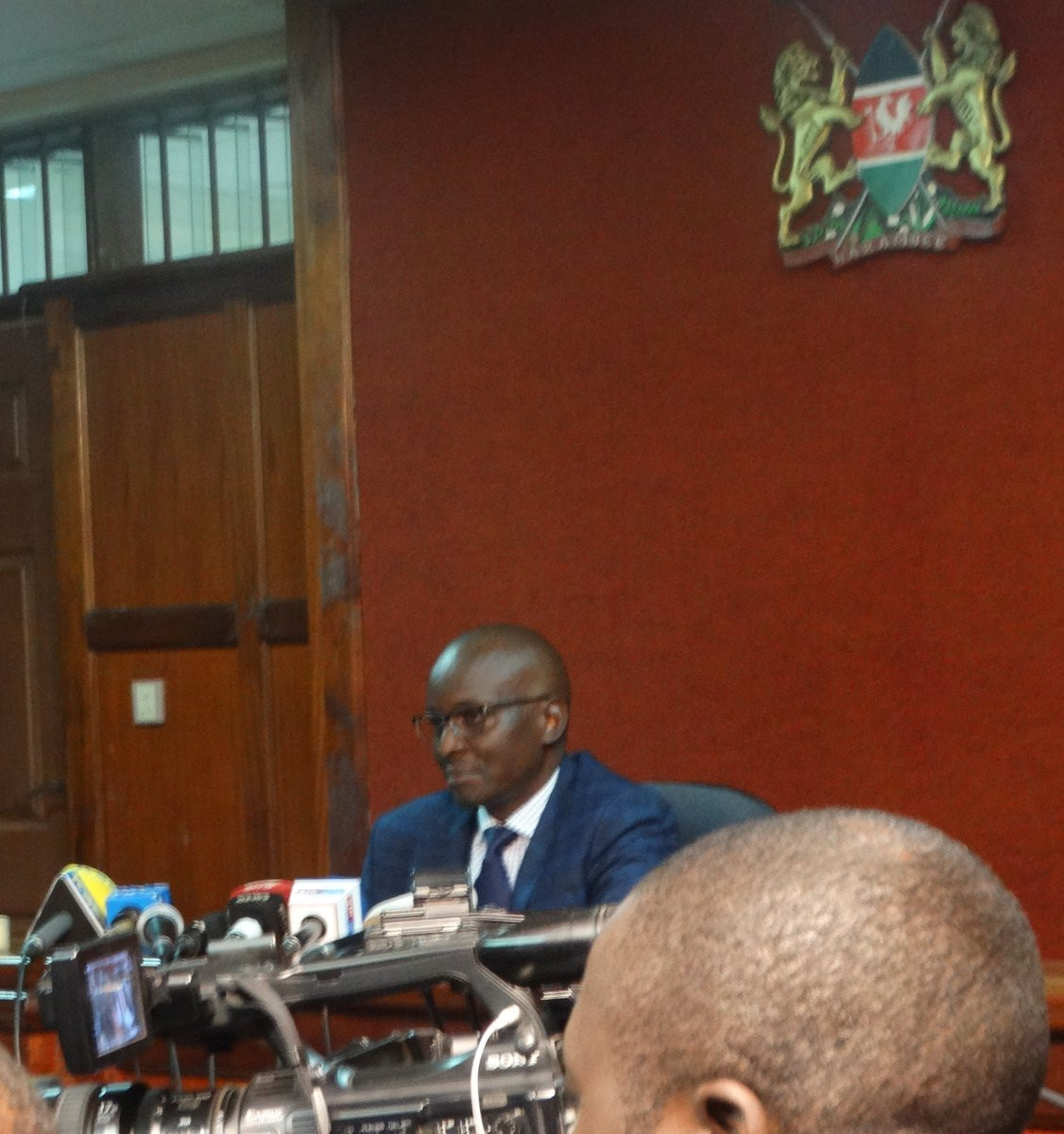 The defendants were ordered to surrender their passports in court today ©ODPP_KE/Twitter