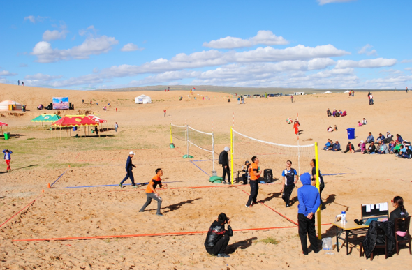 Mongolian National Olympic Committee host inaugural Beach Sports and Art Games