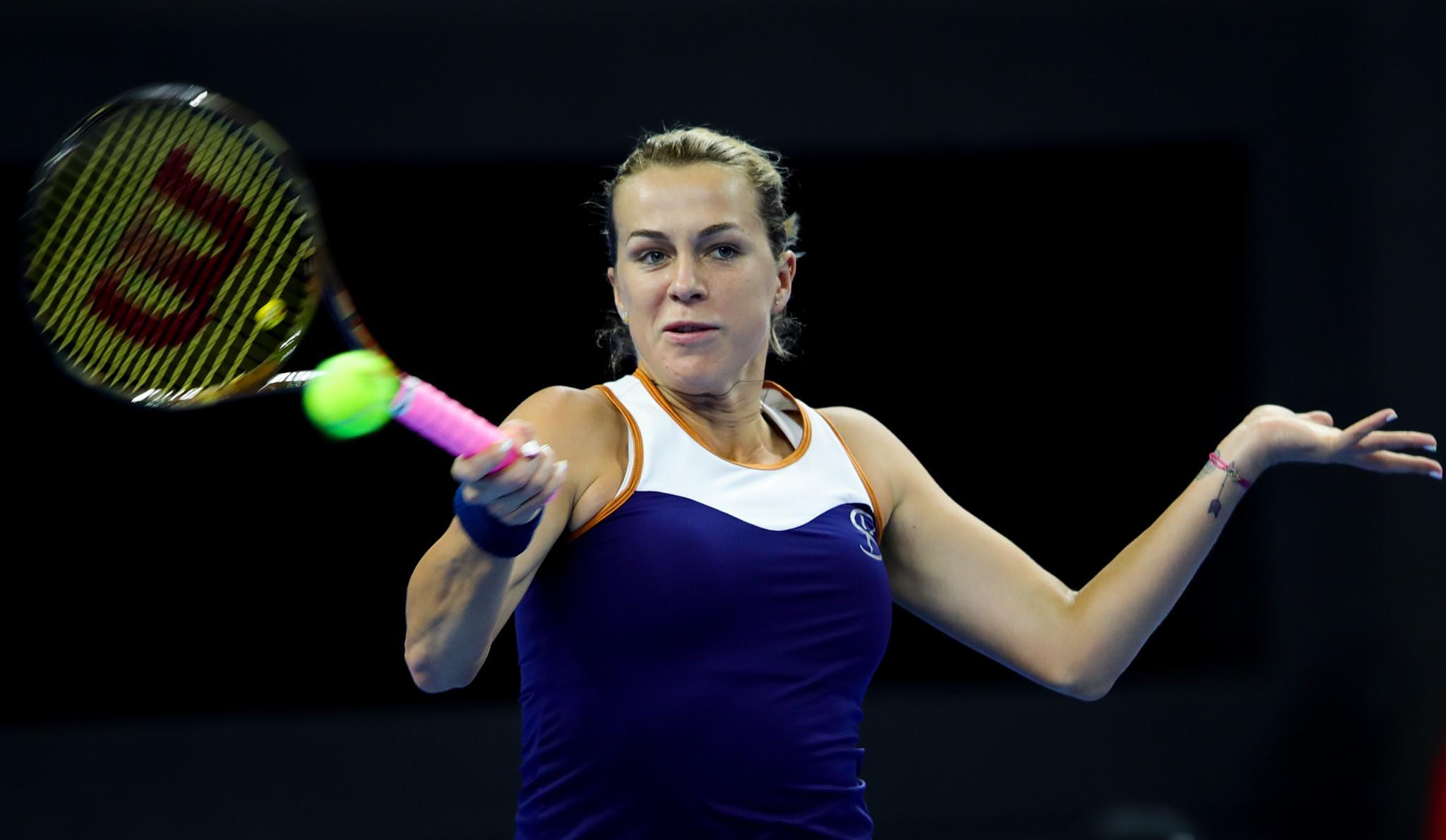 Pavlyuchenkova wins on home soil as WTA Kremlin Cup opens in Moscow