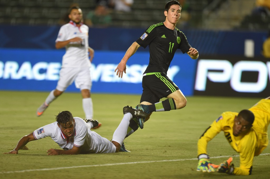 Reigning champions Mexico begin 2015 CONCACAF Men's Olympic Qualifying Championship with impressive win over Costa Rica