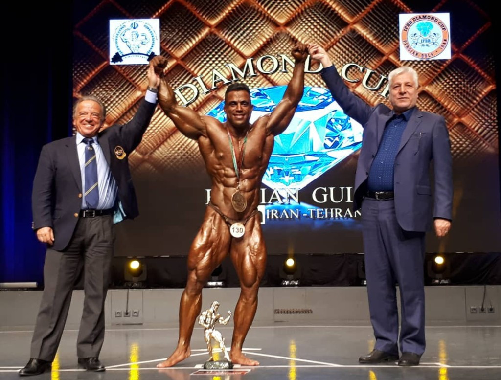 IFBB President meets officials and attends tournament in Iran