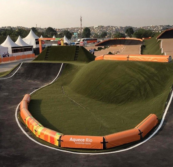 Rio 2016 have been forced to push their BMX test event back a day following complaints of an unsafe course from riders ©Liam Phillips/Instagram