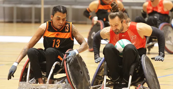 Dutch delight at International Wheelchair Rugby Federation European Division B Championships