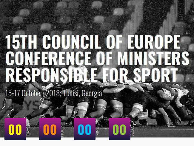 European Olympic Committees President addresses Sports Ministers conference