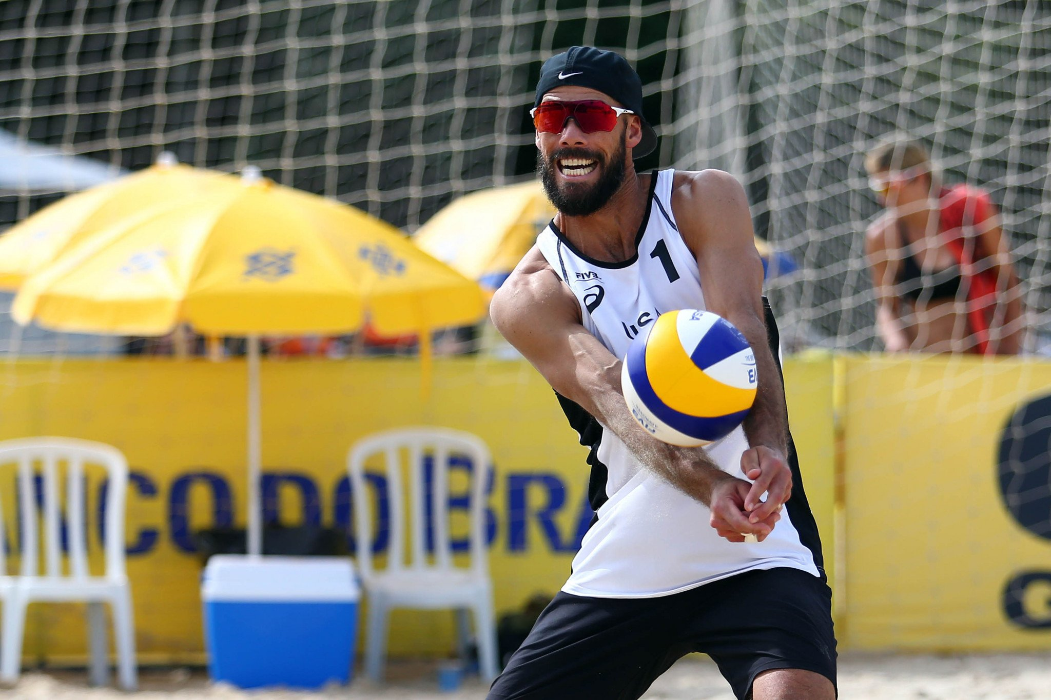 Indoor Olympic champion Reid Priddy will compete in the qualifying round ©FIVB