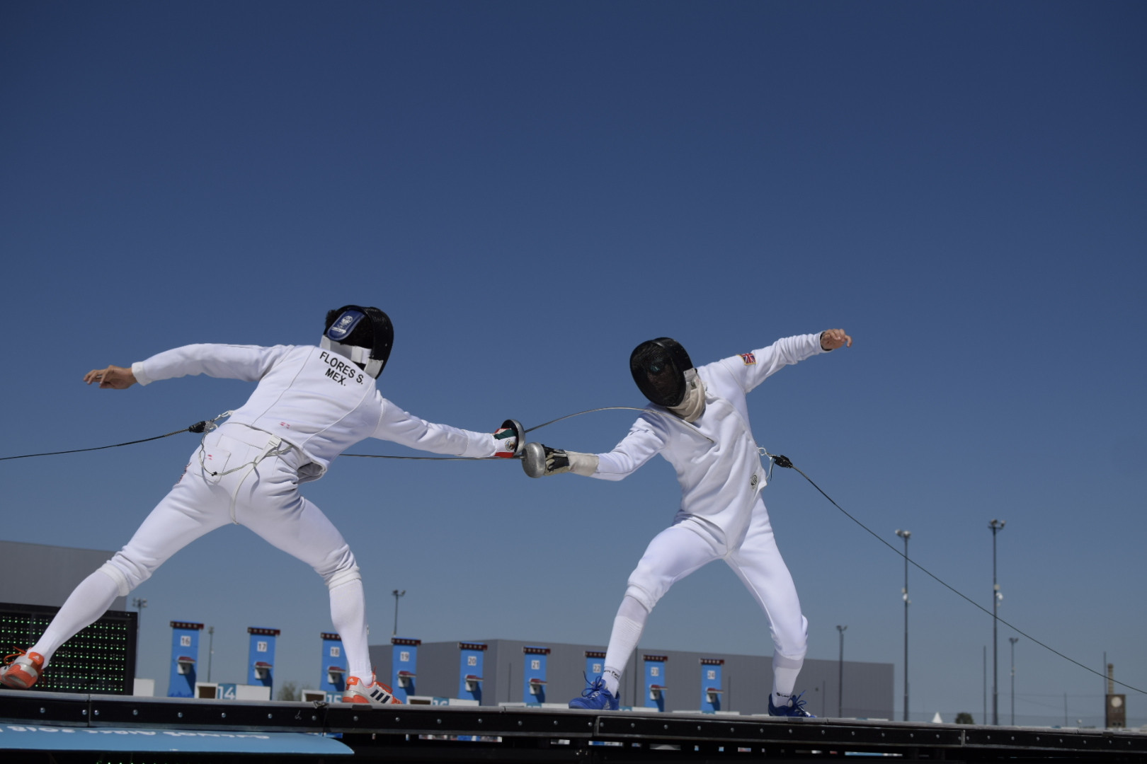 The modern pentathlon programme concluded with the mixed international team event ©Buenos Aires 2018